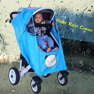 Strollers Pushchairs Baby Carriage Waterproof Dust Proof Cover Buggy Rain cover