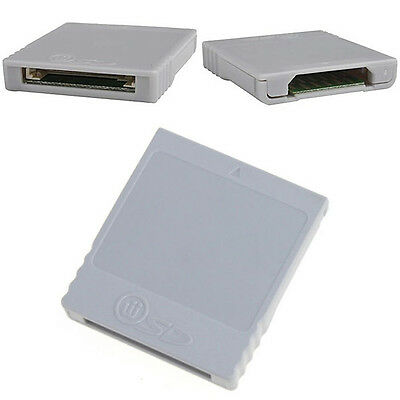Video Game SD Memory Card Stick Converter Adaptor For Nintendo Wii Console