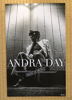 ANDRA DAY poster Cheers to the Day 11x17 uncreased NR