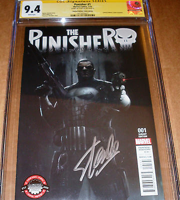 Punisher #1 Variant CGC SS SIGNED Stan Lee Marvel Limited Edition Comix Mattina