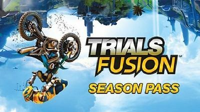 Xbox One Trials Fusion Season Pass for 6 Future Packs NEW DLC Download Code