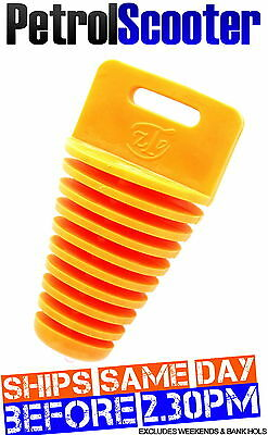 Orange Pitbike Exhaust Silencer Wash Water Bung Plug Pit Bike Quad Motocross ATV