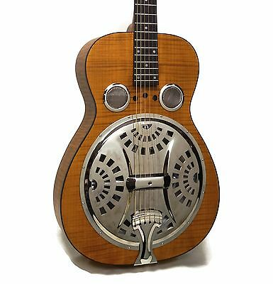 Dobro Hound Dog Deluxe Round Neck Acoustic-Electric Resonator Guitar