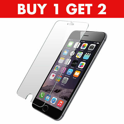 100% Genuine Tempered Glass Film Screen Protector For Apple Iphone 7 Plus -New