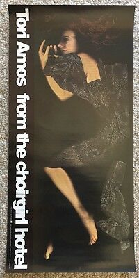 TORI AMOS Promo Poster 1998 From the Choirgirl Hotel Mint