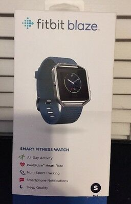 Fitbit Blaze - Small (W/ Blue Band) New In Box!