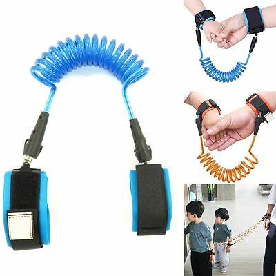 Baby Kids Toddler Child Safety Leash Wrist Link Anti-lost Harness Strap Reins TP