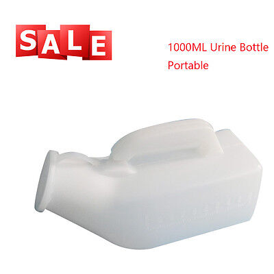 1000ML Male Bed Pee Urinal Bottle Journeys Travel Camping Toilet High Quality