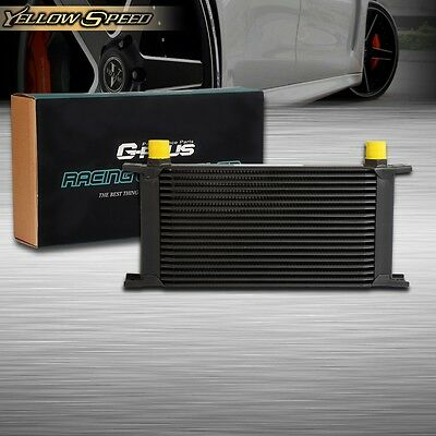 UK  19 ROW 10AN Universal  Auminum Racing Engine Transmission Oil Cooler