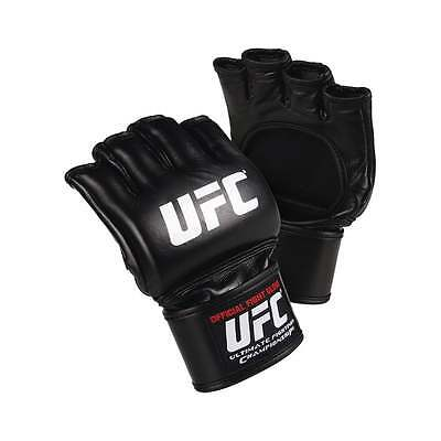 UFC MMA Official Adult MMA Fight Gloves - Black