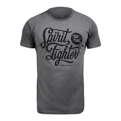 Hayabusa MMA Classic Spirit of the Fighter T-shirt - Grey