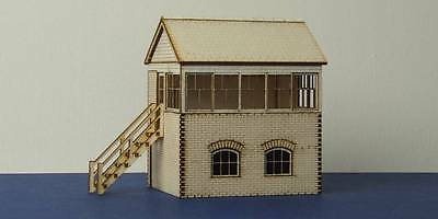 Small signal box with left and right stairs options - B 00-03