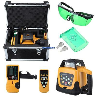 500m Range  Automatic Rotary Rotating Laser Level Self Leveling Green Beam