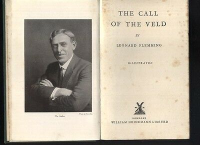 BOER WAR : THE CALL OF THE VELD by Flemming 1928