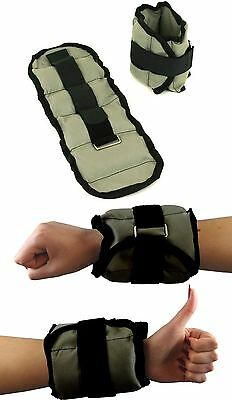 New Large Wrist Ankle Weights Wrap Straps Bandage Sport Gym Exercise Train=