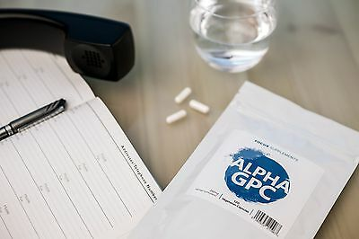 Alpha GPC (250mg Capsules)  *Improve Focus, Memory and Learning*  60/120/240/960