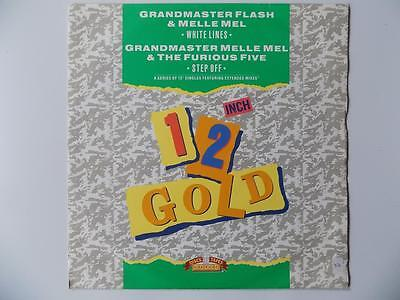 Grandmaster Flash & Melle Mel / Furious Five - White Lines / Step Off (Old Gold)