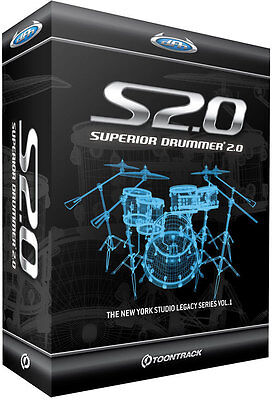 Superior Drummer 2.0 NEW Electronic Delivery AU VST AAX RTAS