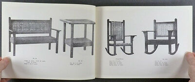 Indian Splint Manufacturing Company -a Arts & Crafts Movement Furniture Catalog
