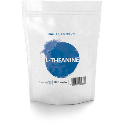 L-Theanine  |  250mg Vegetarian Capsules  |  Promotes Cognition and Relaxation