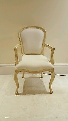 Child's French Chair  - White (Child's Bedroom Carver Chair)