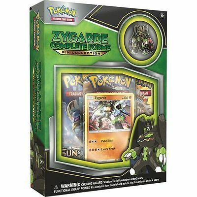 Pokemon Tcg: Zygarde Complete Forme Pin Collection Box