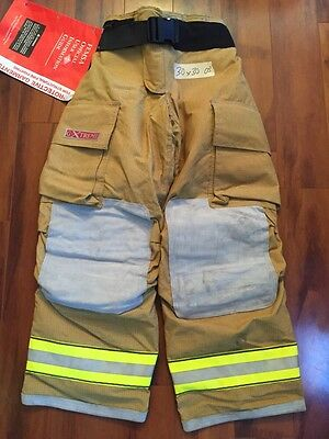 Firefighter Bunker TurnOut Gear Globe 30x30 G Extreme New W/ Tags Halloween