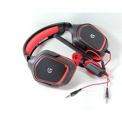 Logitech Headset Wired G230 Gaming Stereo Mic Noise Cancel *No Box* 981-000541