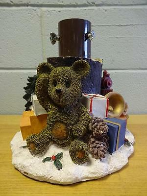 Unique Porcelain Teddy Bear Christmas Tree Stand