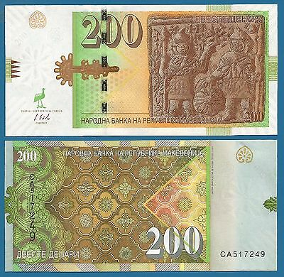 Combine FREE! Macedonia 500 Denari P 17 1996 UNC  Low Shipping