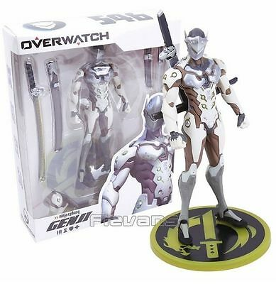 Anime Game Genji PVC Figure Collectible Model Toy 18cm Boxed overwatch figura