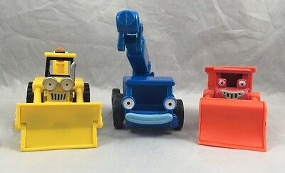Bob the Builder Diecase Muck Lofty Scoop Toy Vehicle Learning Curve Chapman Lot
