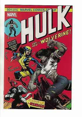 Hulk #1 McGuinness Popcorn Hall of Comics 500 Variant | X-23 181 Logan Wolverine