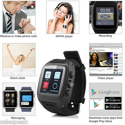 "1.54"" IMacwear M7 Reloj Inteligente 3G GSM GPS Impermeable Android Smart Watch"