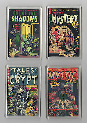 Fridge Magnet Horror comic covers choice of 4 mystery crypt shadows mystic gift