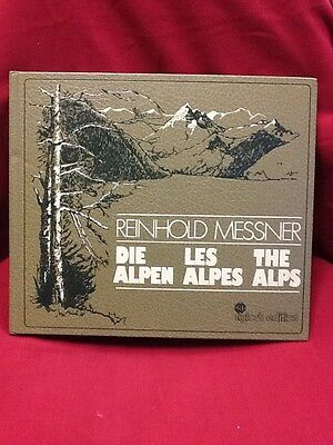 Buch Messner/Die Alpen-Les Alpes-The Alps/1979