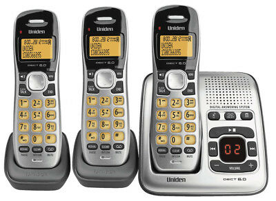 NEW Uniden - DECT 1735 + 2 - DECT Digital Phone System from Bing Lee