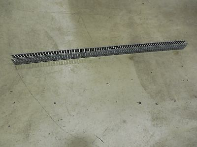 """Panduit Wire Ducting Slotted Hinged Duct PVC 2""""X4""""X6' Light Gray, H2X4LG6"""