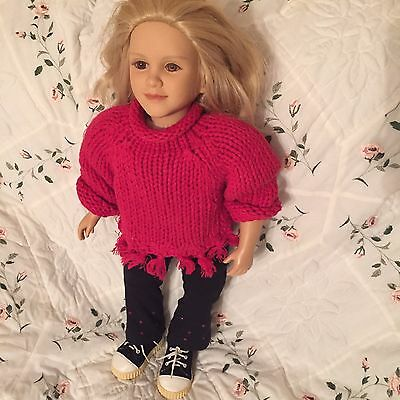 My Twinn Doll Denika Blonde Hair And Brown Eyes 23' Poseable And Adorable