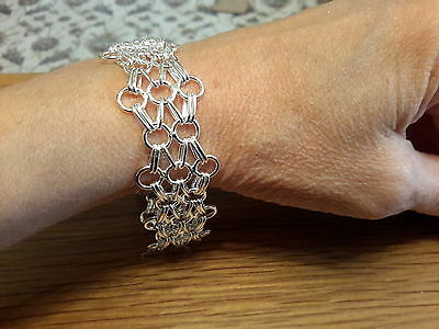Brand new  925 stamped  Silver 8in Bracelet with gift box