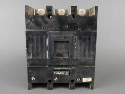General Electric 3-Pole, 400 Amp, 600VAC Circuit Breaker TJJ436400
