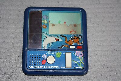 ++ ancien jeu electronique marine hunter down CASIO 1983 style game and watch ++