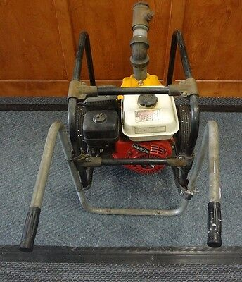 Portable Gas Powered Honda GX160 Engine Water Pump No Hose Included Used!!