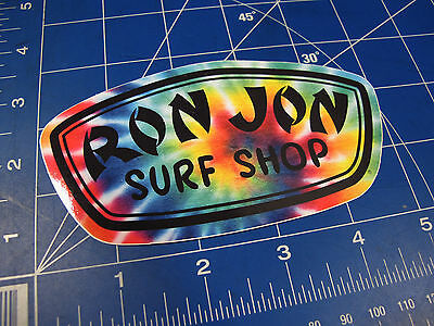 vtg* 2000's to new - Ron Jon surf sticker tie dye
