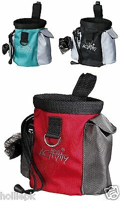 2 In 1 Puppy Dog Training Treat Bag & Poop Bag Dispenser & Roll Included 10 X 13