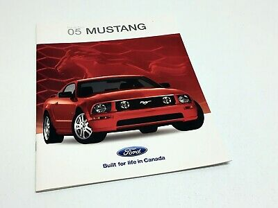 2005 Ford Mustang V6 GT Coupe Launch Brochure