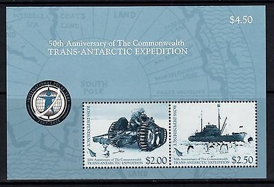 "NZ, Ross Dependency, 2007 ""Trans Atlantic Expedition"" Miniature Sheet. Never HM"