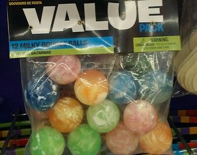 rubber bouncy balls milkey themed lot party favors kids toy child toys