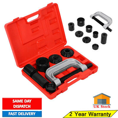 10pcs Ball Joint Press Service Kit Remover Separator 4x4 Adaptor 4 in 1Tool Set