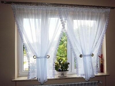 Amazing Luxury Voile Net Curtains Ready Made Living Dining Room Bedroom New